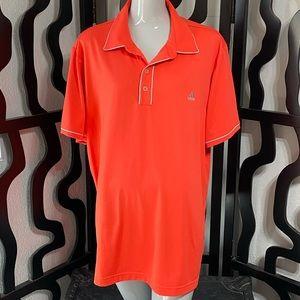 Adidas Orange Golf Polo